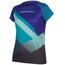 Endura SingleTrack Print II LTD Short Sleeve Jersey Women cobaltblue